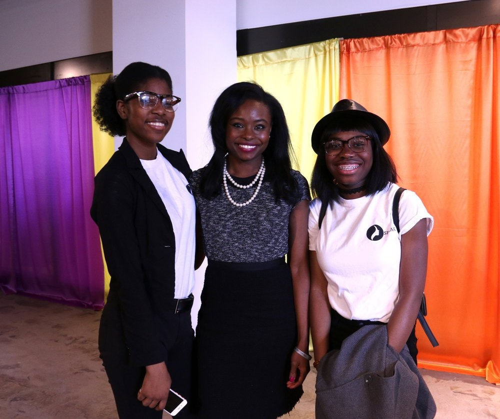 Future leaders meet current leader, Dorcas Adekunle, Deputy Chief of Staff and Legislative Director to   Rep.   Susan Wild