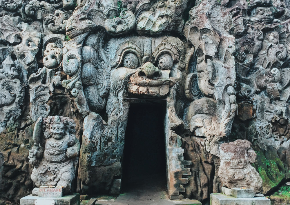 Goa Gajah,  Ubud, Bedulu, Blahbatuh, Kabupaten Gianyar, Bali, Indonesia