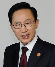 Ex-President Lee Myong Bak
