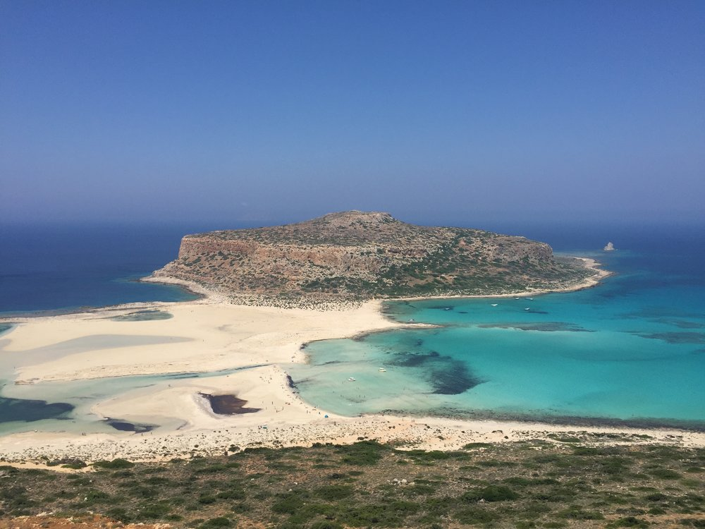 Balos is remote but worth the trek!