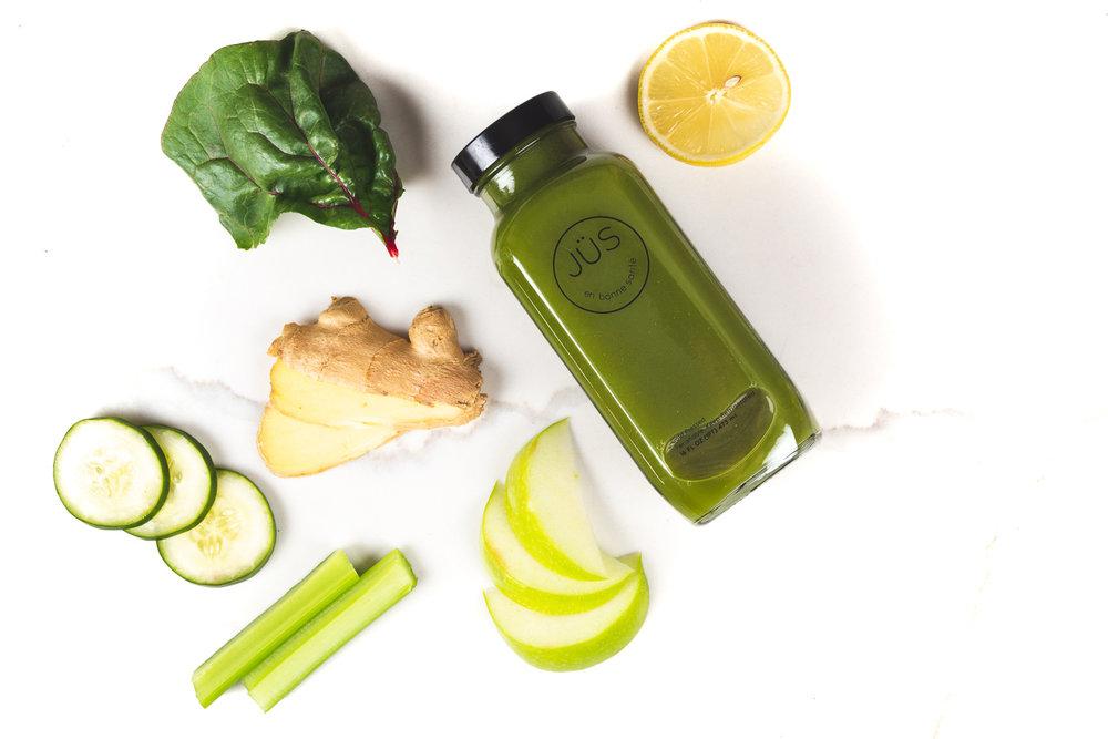 Ginger Greens - Digestive AidStimulates circulationAnti-inflammatoryAnti-oxidantImmune BoosterHeavy Metal Detox