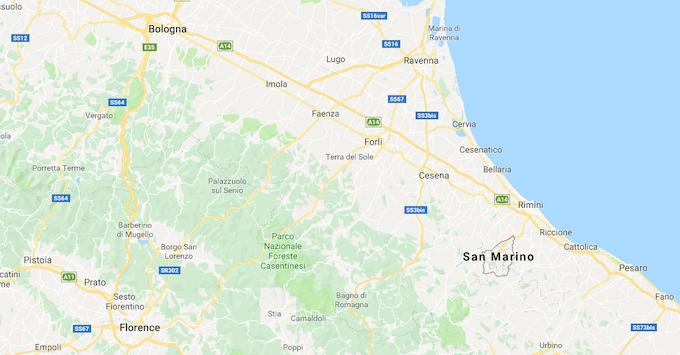 (Map Data © 2019 Google)
