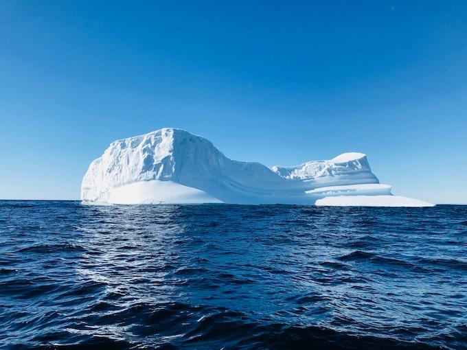 Iceberg in the ocean in Canada.jpg