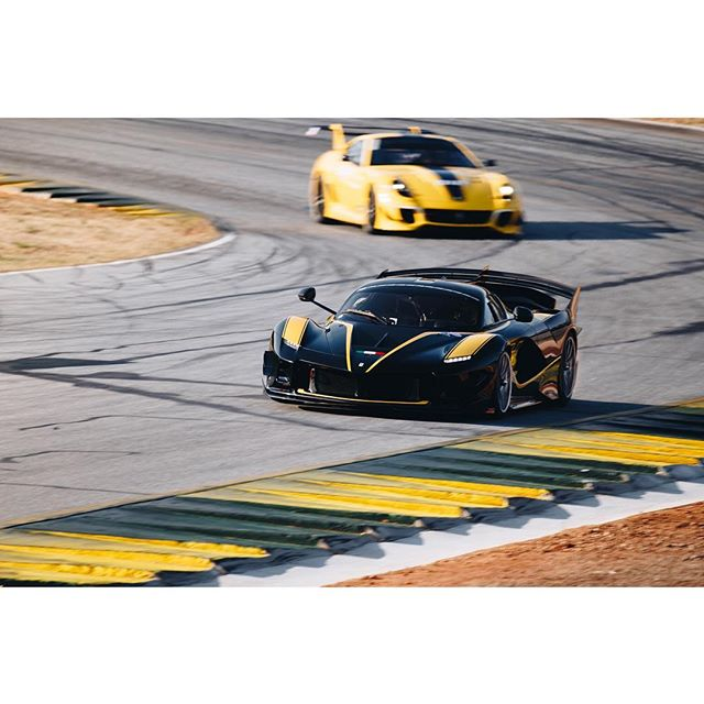Whoever said a dodge was a demon has clearly never seen one of these... 👹 #ferrari #fxxk #fxxkevo #ferrarifxxk #roadatlanta #corseclienti #xxprogramme - - -  #bccollective #zfselects #motorsportphotography #motorsport #motorsports #racing #racetrack #racecar #speedhunters #roadandtrack #canon #5dmarkiv #teamcanon #canonbringit #iamthespeedhunter #drivetastefully #motorsportcom #racermag #motortrend #benzingarage