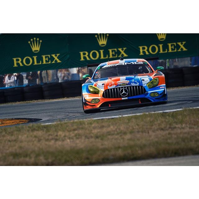 Can't wait to see whats happening with the amg initiative to push more of these in participating in the weathertech championship. #amggt3 #mercedesamg #daytonainternationalspeedway #rolex24 - - -  #bccollective #zfselects #motorsportphotography #motorsport #motorsports #racing #racetrack #racecar #speedhunters #roadandtrack #canon #5dmarkiv #teamcanon #canonbringit #iamthespeedhunter #drivetastefully #motorsportcom #racermag #motortrend #benzingarage #imsa #wec #fiawec #worldendurancechampionship