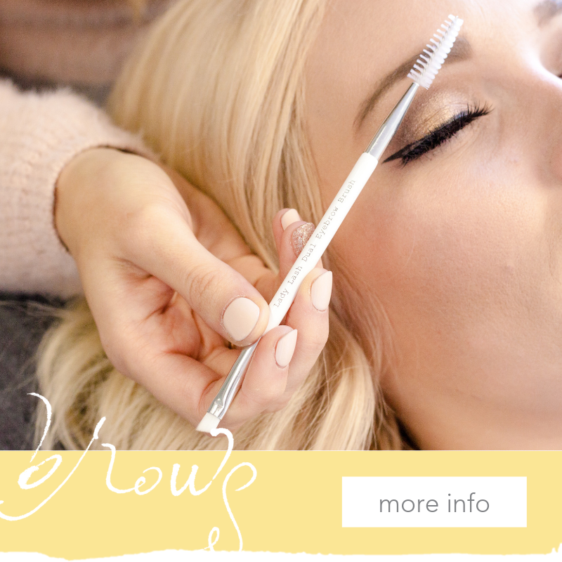 Brows - We provide high end brow embroidery services in our studio. Book now to get your lashes and brows done the same day!learn more →