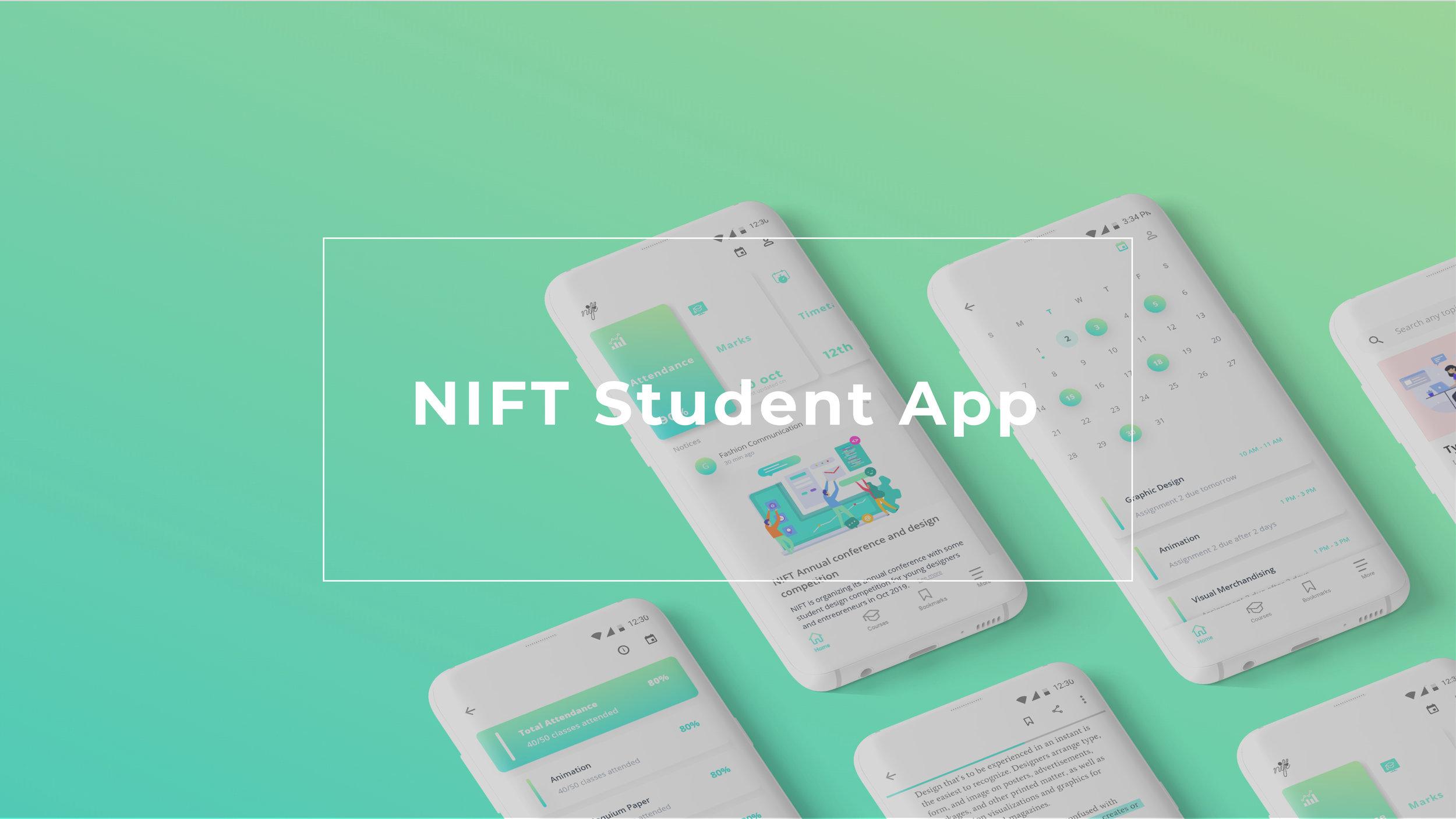 Nift Student App Ira Kaushik