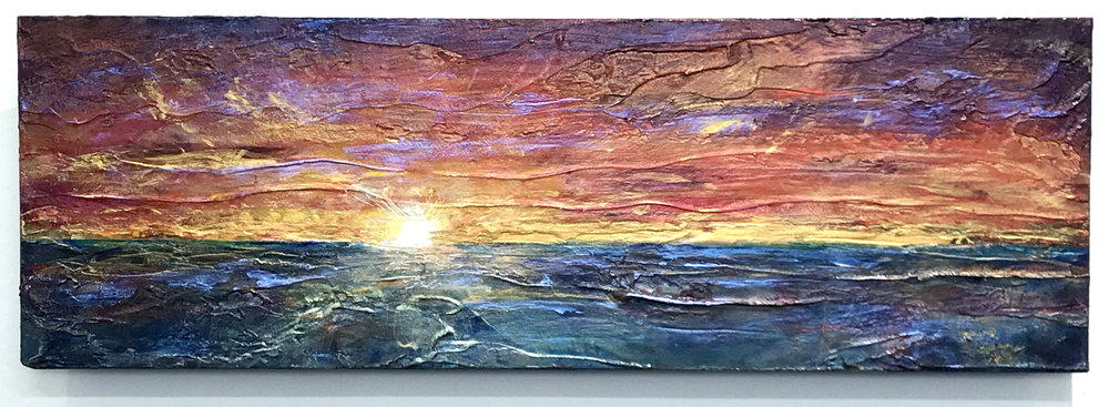 Sun Goes Down Quickly; 2018 10x30in; acrylic on canvas.jpg