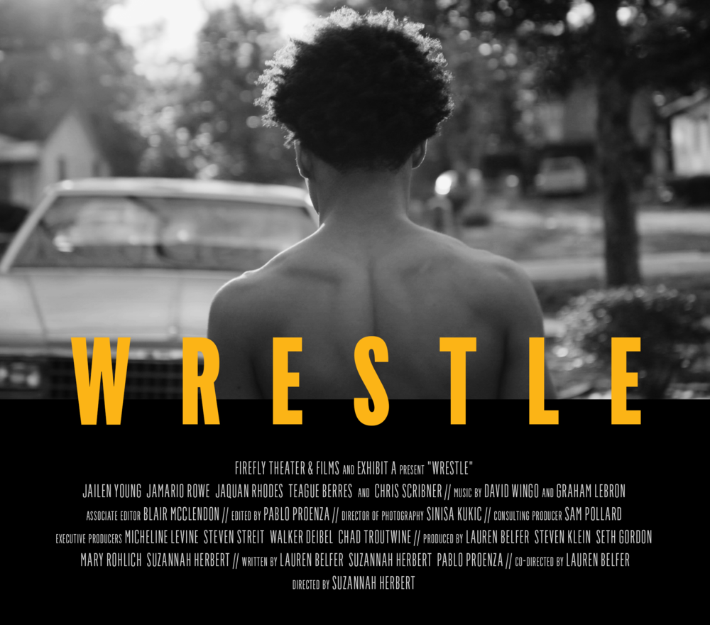 Wrestle - A new Firefly and Exhibit A documentary, WRESTLE follows four Alabama high school wrestlers as they fight their way towards the State Championship and the doors they hope it will open.