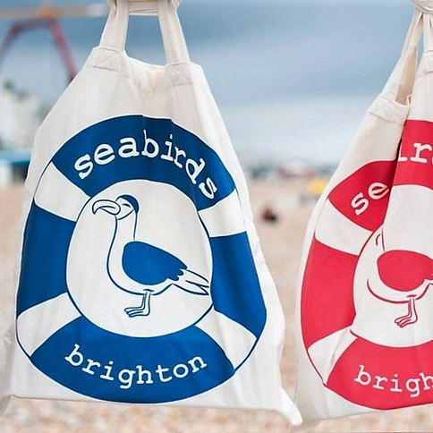 Seabirds Tote Bags - Seabirds