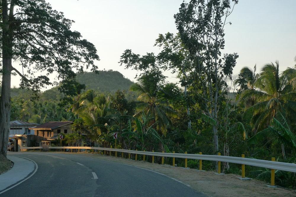 DRIVING AROUND THE EMPTY ROADS