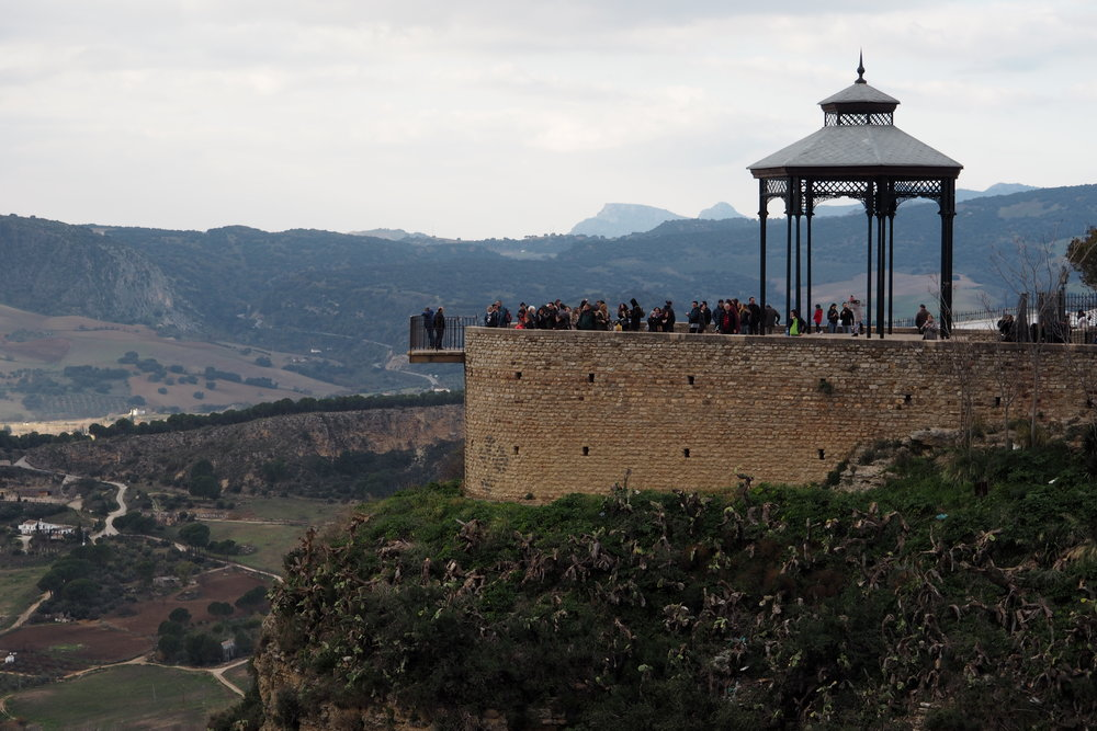 Lookout point in Ronda