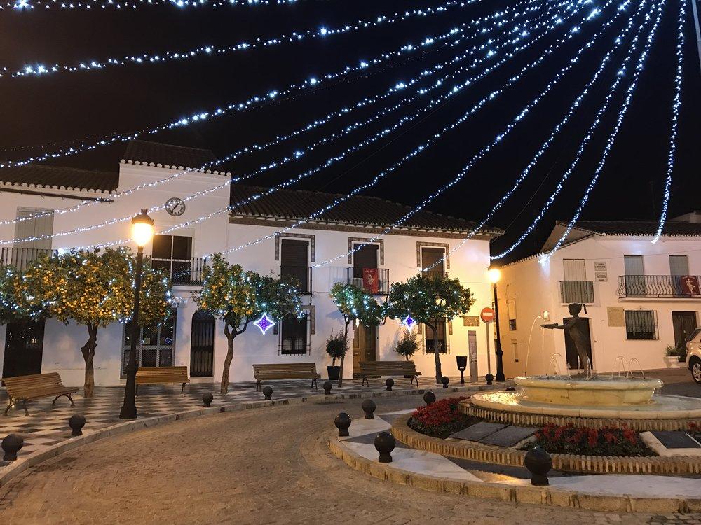 New years eve in Benalmadena Pueblo