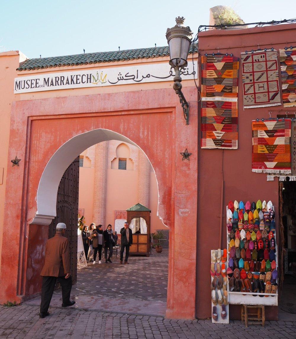 the colour of marrakech