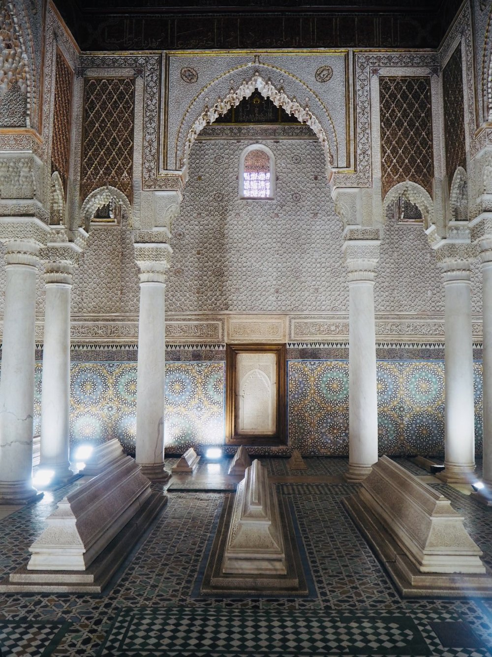 Saadian tombs - there, you've seen it