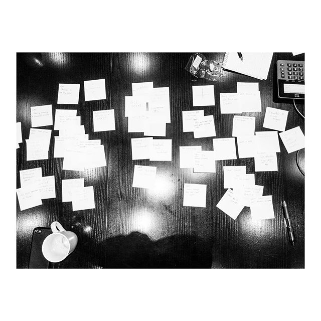 #postit and #coffee is #allyouneed to have a #productive #timeboxed meeting. . . . #office #40hours #personalproject about #everydaylife #visualstorytelling #bnwphotography #lensculture #blackandwhitephoto #light #instagood #everydaylife #sky #repeate #mindingmybusiness #photooftheday #burnmagazine #burndiary #magnumphotos #reallife #photography #documentaryphotography #lifehappens #liveforthestory