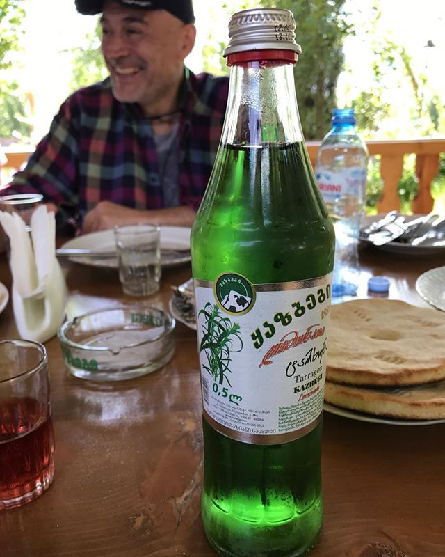 Tarragon soda - it's a Georgian thing. #tarragonsoda #lostedenwine #lostcameraproject