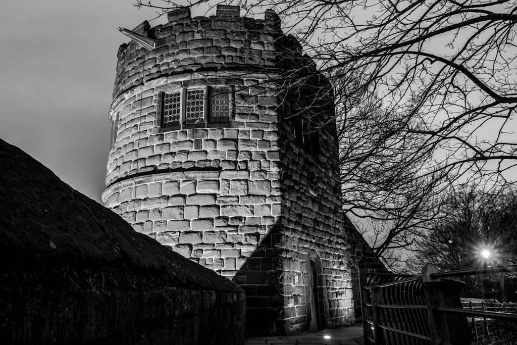 King Charles Tower at Night (84/365)