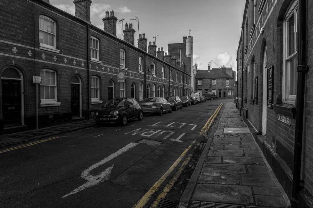 Selective Colour In Albion Street