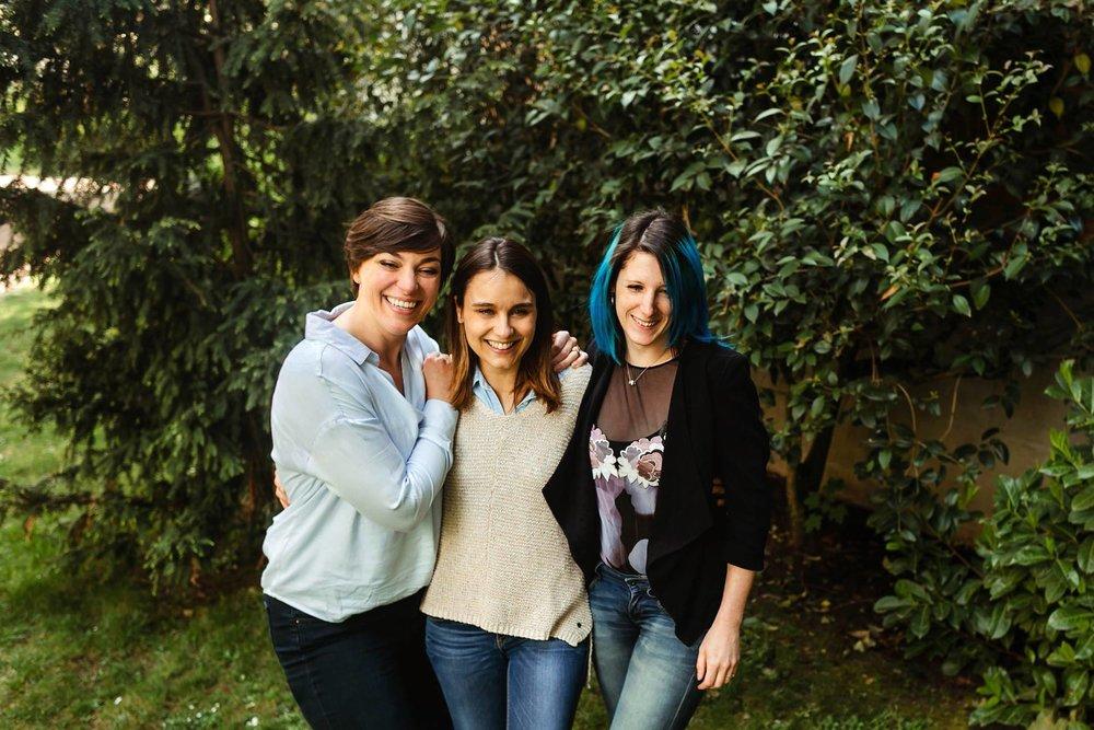 Nicole, elodie & julie