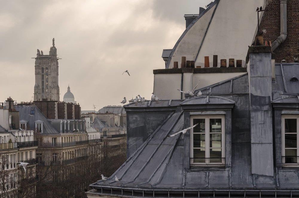 PARIS - 09 AVRILAVEC NICOLE GEVREY