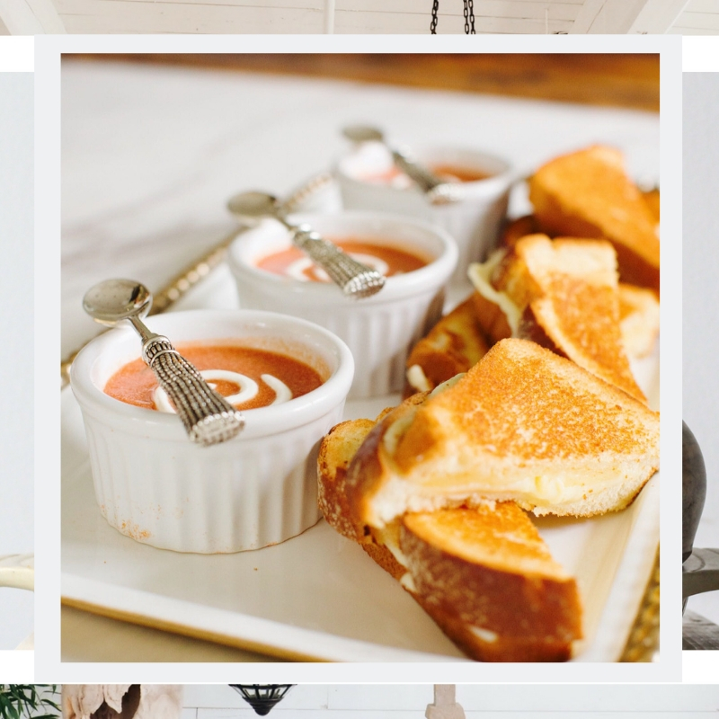 The Perfect Combo - It's the perfect time of year for that soup-grilled cheese combo, don't you agree?