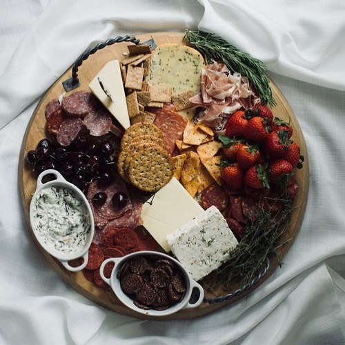 Obsessed is not even a strong enough word to describe my relationship with charcuterie boards😍 need a little extra help preparing a bomb cheese plate for your next gathering? .  Check link in bio for a few simple tips and tricks 🤤🧀 . . . . . #blogger #foodie #cheeseplate #charcuterieboard #followme #followmyjourney #ybb #basic #biffle #girl #fashion #travel #diy