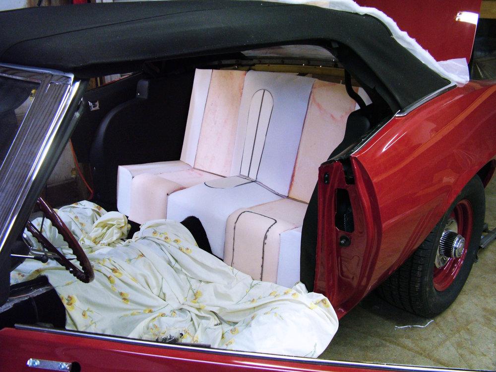 69 Camaro Full Custom Interior with Seat Foam Repair