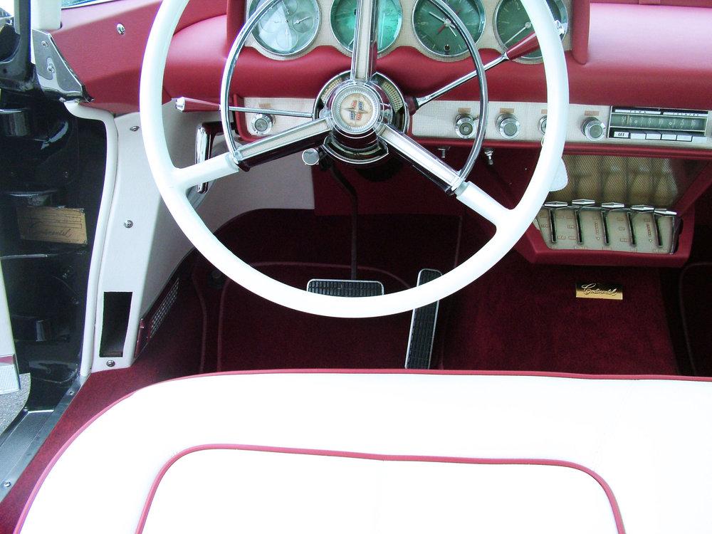 Lincoln - Interior Restoration foam seat repair.