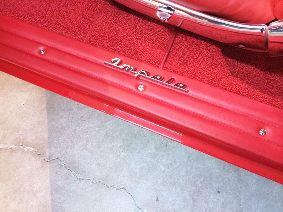 Impala logo restoration.