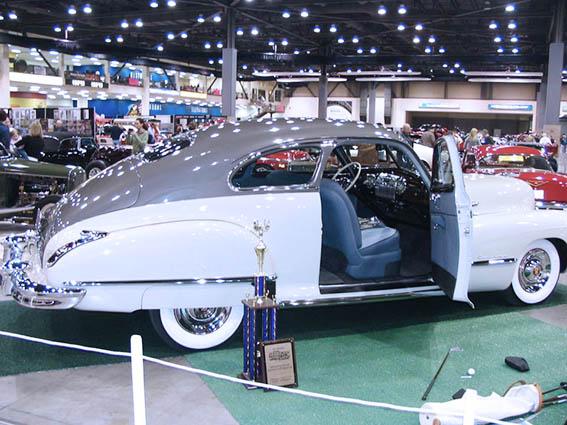 Cadillac - NW Crafted Interior restoration award.