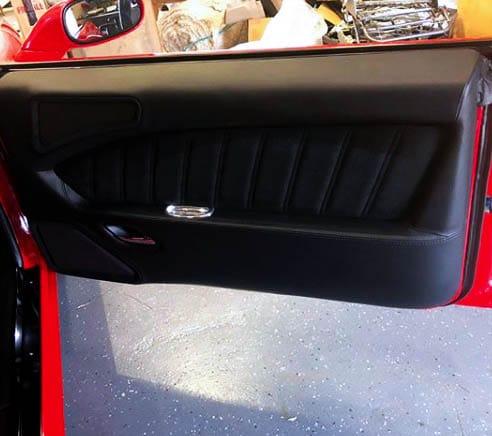 68 Camaro Custom Wrapped Door Panel