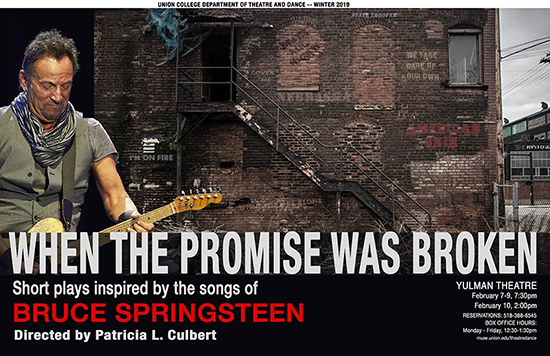 When the Promise Was Broken: Short plays inspired by the songs of Bruce Springsteen