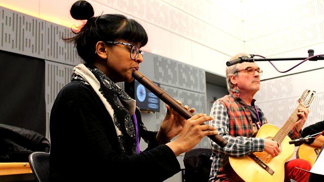 Rambert Musicians: Ghost Dances  BBC in Tune;  https://www.bbc.co.uk/programmes/b08p510f   Yshani Perinpanayagam, quena