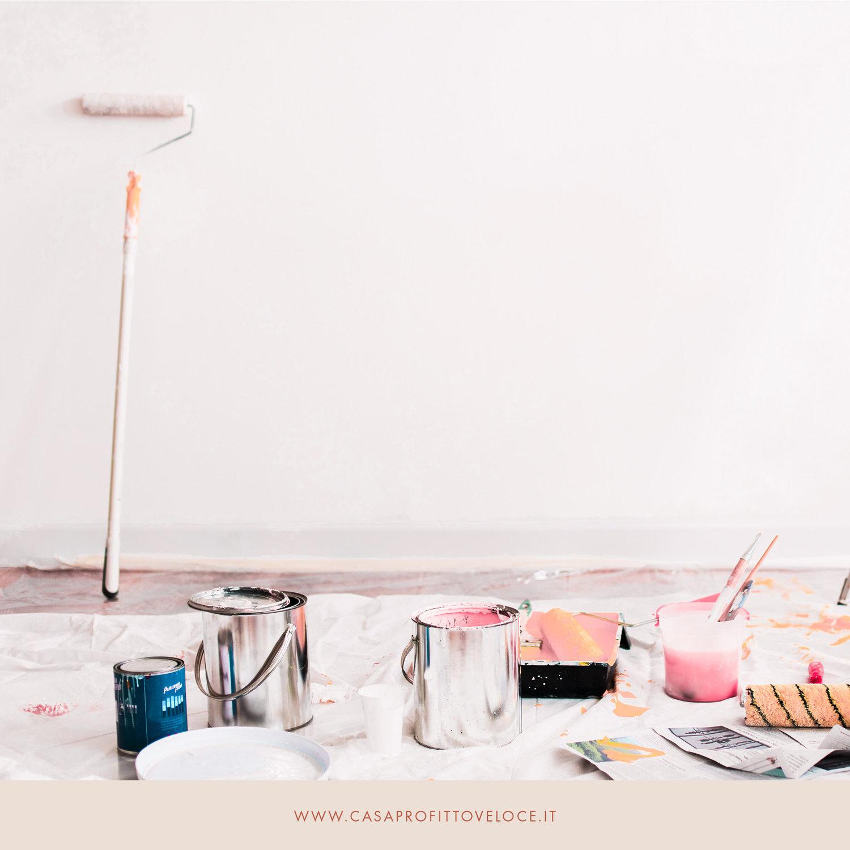 Prima Di Pitturare Una Parete non mettere in vendita la tua casa! se prima non l'hai