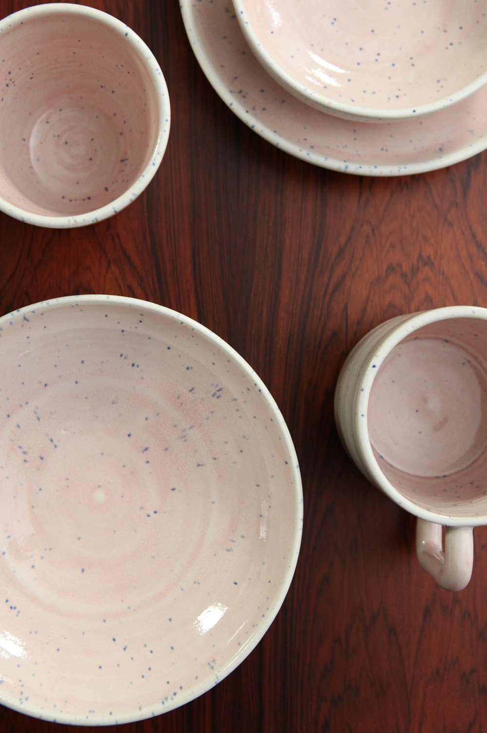 Homeware Collection - Satisfyingly simple stoneware forms with the signature speckled two tone glaze