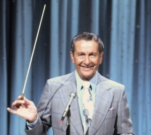 Lawrence Welk with Baton