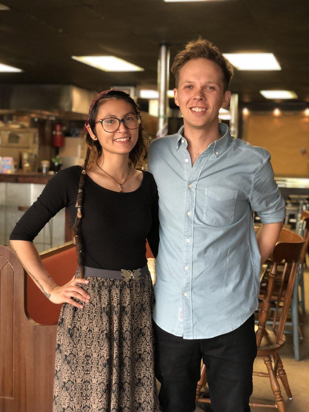 Da-Vi and Ryan in restaurant.jpg