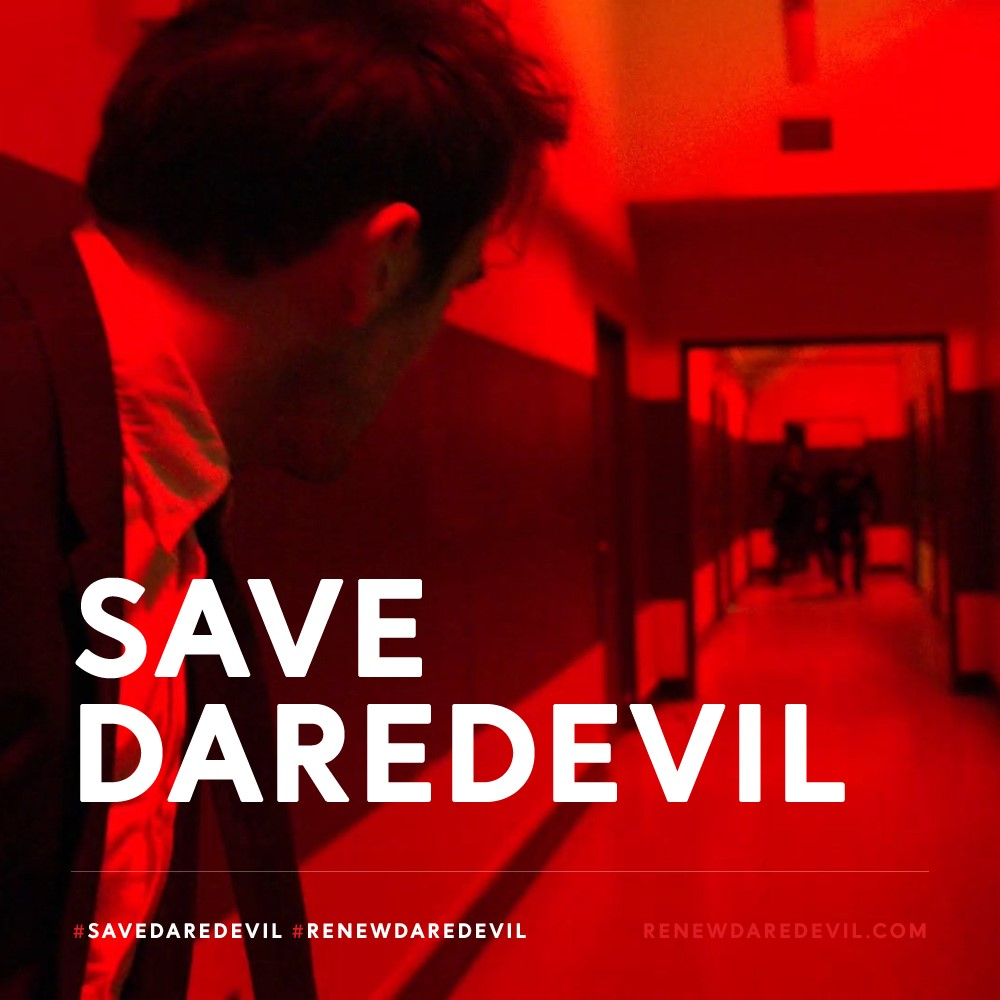 Welcome to #SaveDaredevil