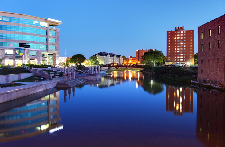 Enjoy some of the most beautiful downtown scenery you could imagine — all by the water!