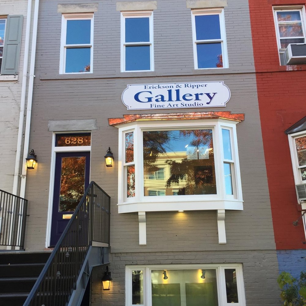 Old Town - Located near the intersection of N. Washington St. and Wythe. Our original Gallery we started 16 years ago. We have an unequaled selection of fantastic mouldings and is the studio of Jeff Erickson
