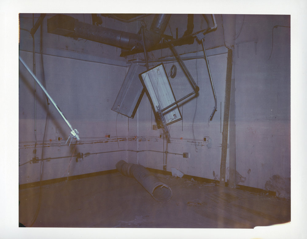 "Exposure #7 • Waltham, MA (Polaroid Factory) • 2009 • Expired Polaroid 809 • 8.5""x11"""