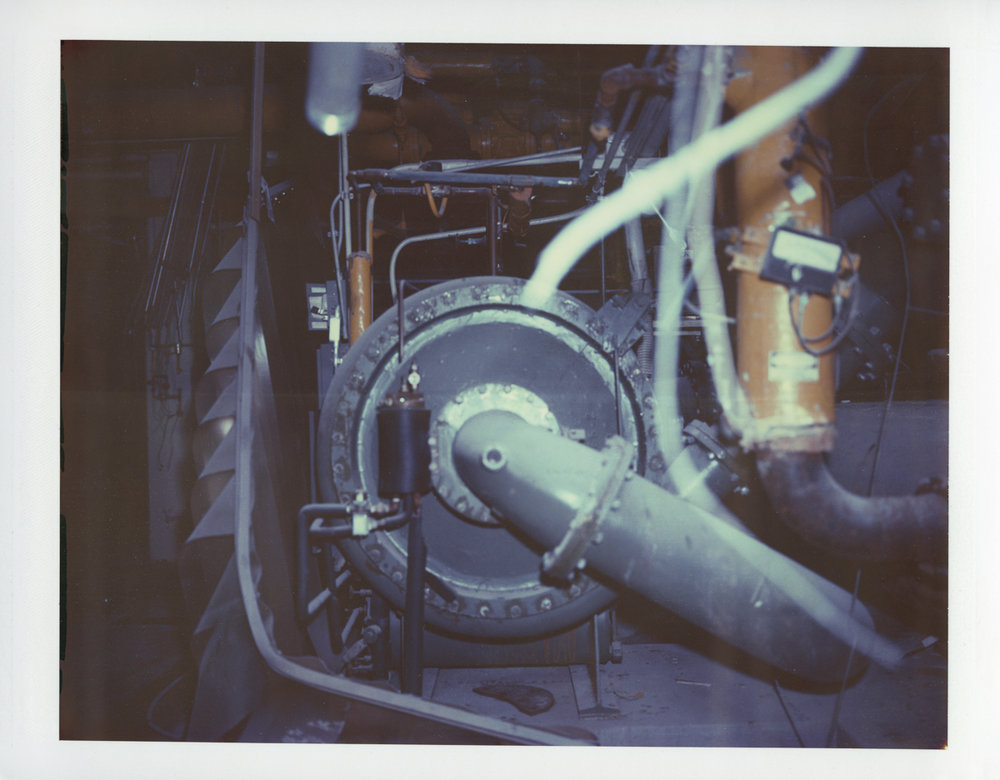 "Exposure #10 • Waltham, MA (Polaroid Factory) • 2009 • Expired Polaroid 809 • 8.5""x11"""