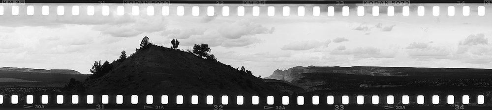 Panorama Trail (Detail) • 2016 • Kodachrome Basin State Park, UT • 35mm Kodachrome (Black & White Reversal)