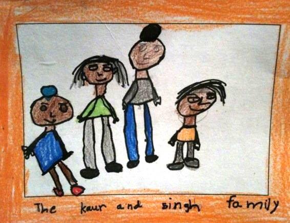 The Kaur and Singh Family - Aekash SinghSan Francisco (USA)