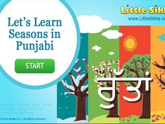 Let's Learn Seasons in Punjabi Game