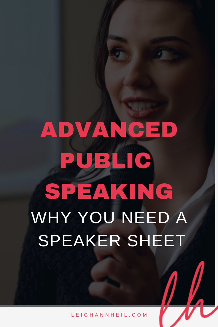 why you need a speaker sheet.png
