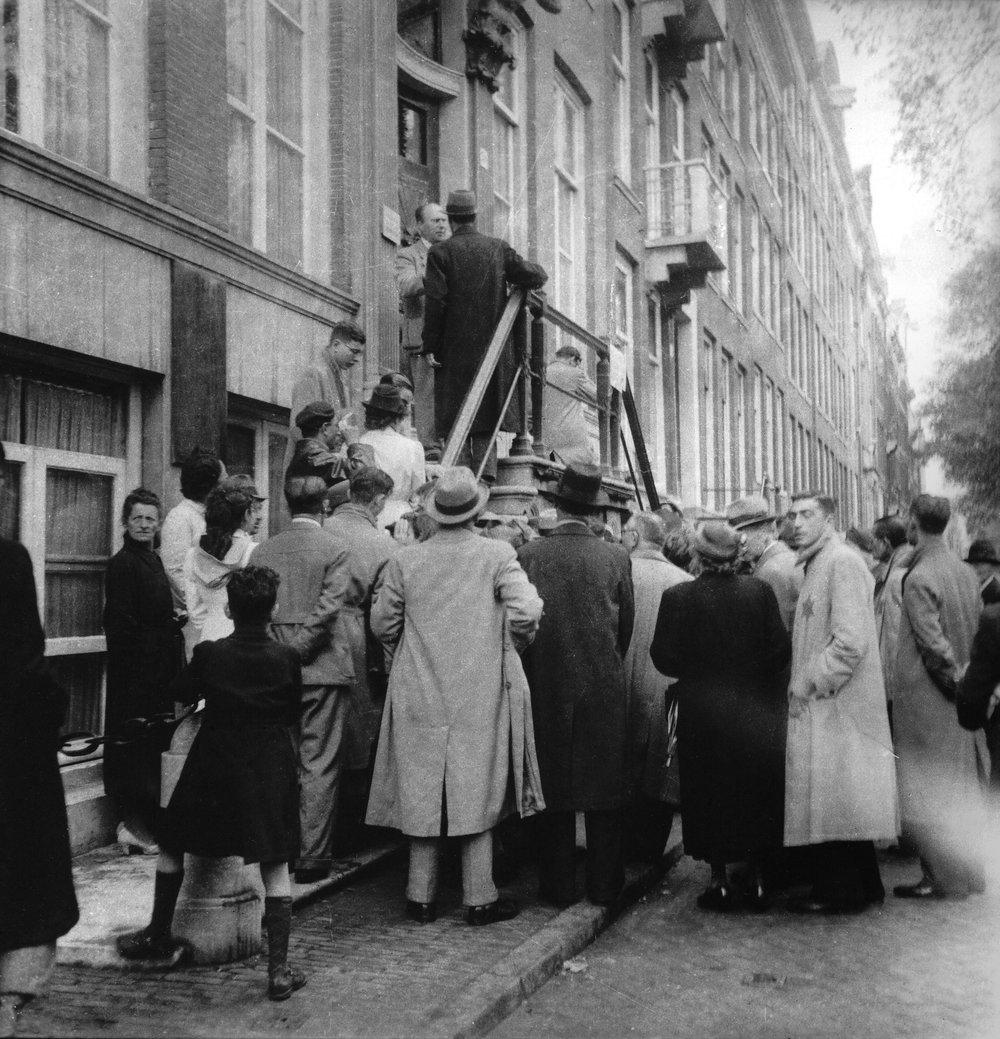 Jaap Kaas, Stadsarchief Amsterdam, 1942-1943