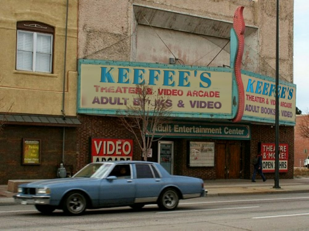 Welcome to Keefee's Porno Theater