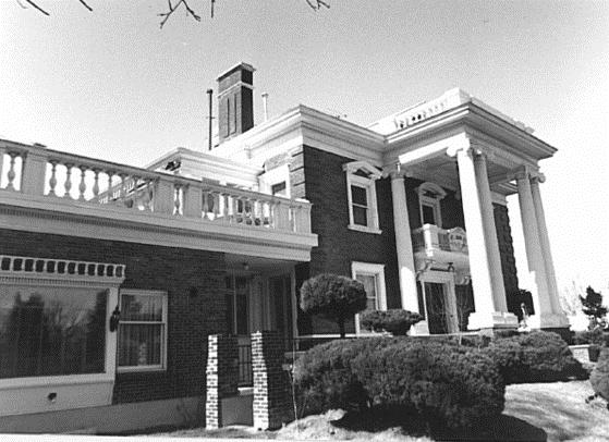 Parkside Mansion establecida en 1905.